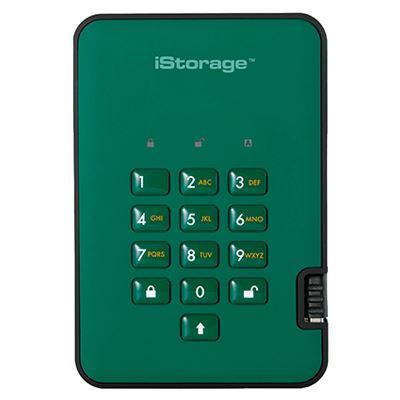 Image of iStorage diskAshur2 256-bit 4TB - Green
