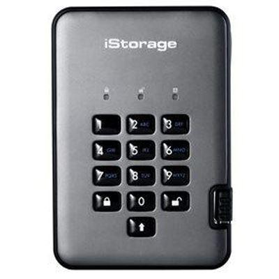 Image of iStorage diskAshur Pro2 SSD 256-bit 512GB - Classified - Graphite