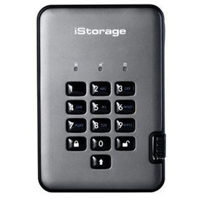 Image of iStorage diskAshur Pro2 SSD 256-bit 2TB - Classified - Graphite