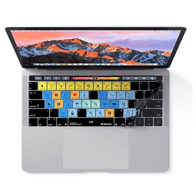 Image of Editors Keys Cubase Keyboard Cover for MacBook Pro with Touchbar 13,-15