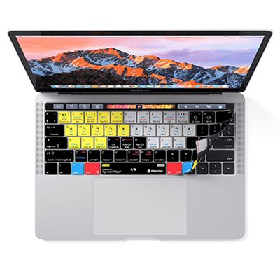 Image of Editors Keys Djay Keyboard Cover for MacBook Pro with Touchbar 13,-15