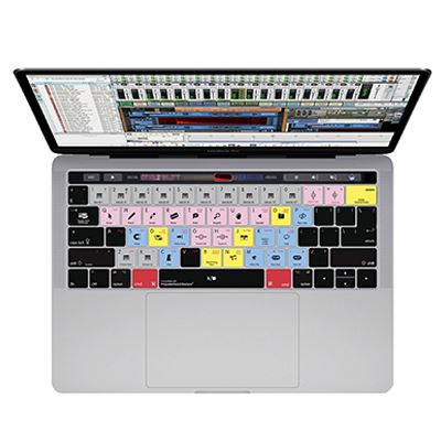Image of Editors Keys Serato DJ Cover for MacBook Pro with Touchbar 13,-15