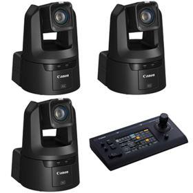 Canon CR-N500 PTZ Camera Bundle - Black