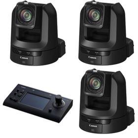 Canon CR-N300 PTZ Camera Bundle - Black