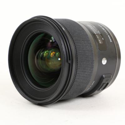 USED Sigma 24mm f1.4 DG HSM Art Lens - Nikon Fit