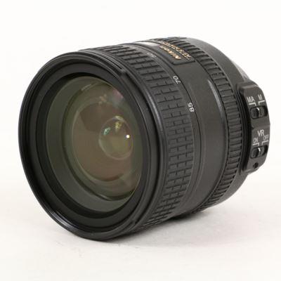USED Nikon 24-85mm f3.5-4.5 AF-S G ED VR Lens