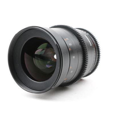 USED Samyang 35mm T1.5 AS UMC II VDSLR Lens - Nikon Fit