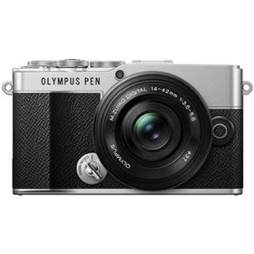 Olympus PEN E-P7 Digital Camera with 14-42mm Lens - Silver