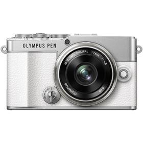 Olympus PEN E-P7 Digital Camera with 14-42mm Lens - White