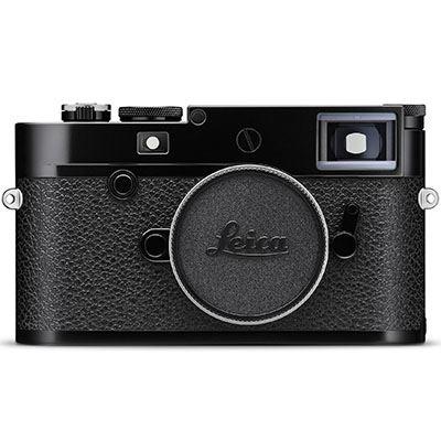 Leica M10-R Digital Camera Body - Black Paint Finish