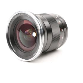 USED Zeiss 21mm f2.8 T* Distagon ZE Lens - Canon Fit