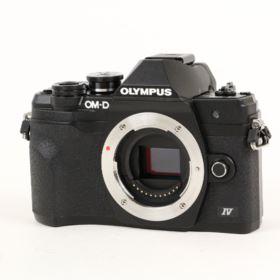 USED Olympus OM-D E-M10 Mark IV Digital Camera Body - Black