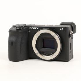 USED Sony A6600 Digital Camera Body