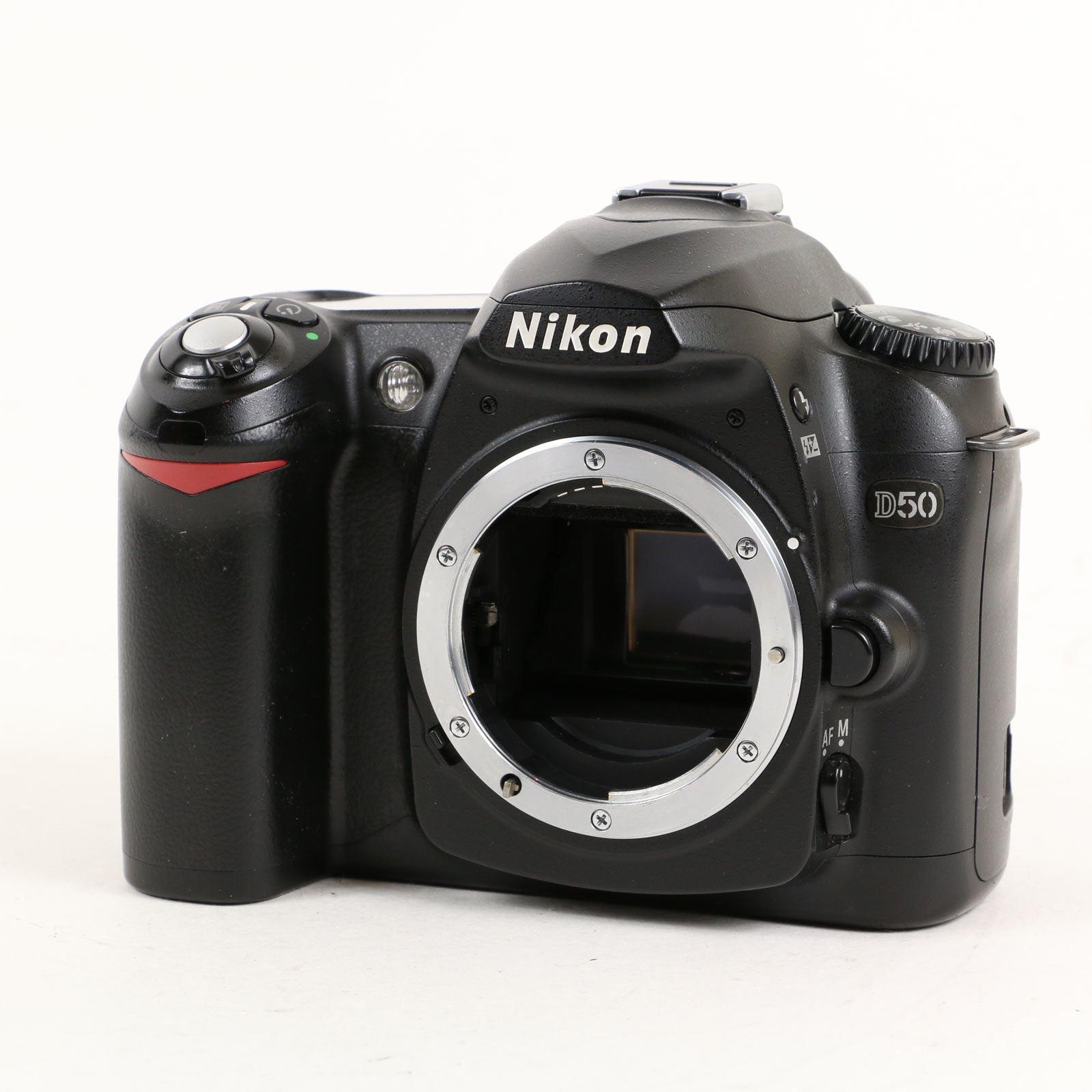 USED Nikon D50 Black Digital SLR Camera Body