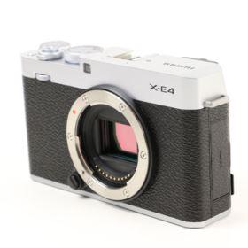 USED Fujifilm X-E4 Digital Camera Body - Silver
