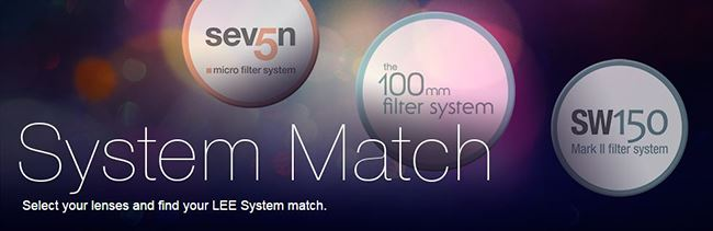 Lee Filter System Match guide' style=