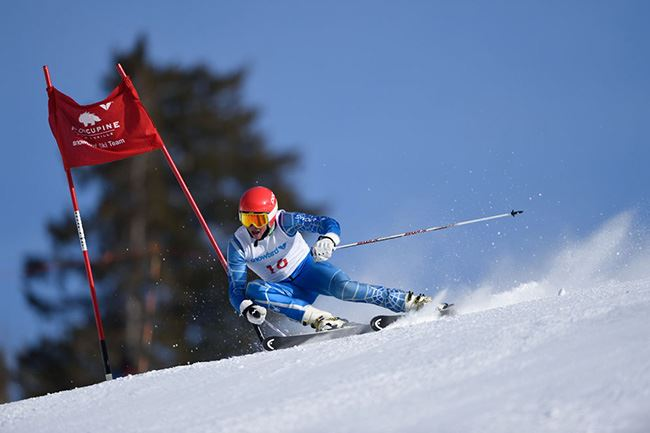 Nikon D4s sample image of skier