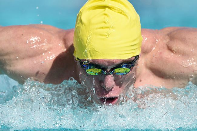 Nikon D4s sample image of swimmer