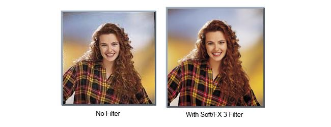 Effects of using a Tiffen Soft FX filter