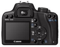 Canon EOS 1000D Rear