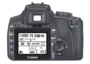 Canon EOS-400D LCD Display