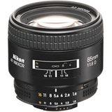 Nikon 85mm prime lens