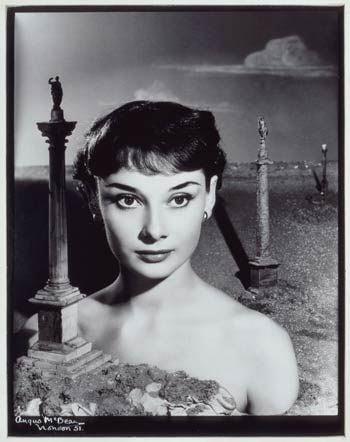 Audrey Hepburn by Angus McBean