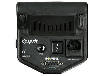 Bowens Gemini Digital GM500 Rear