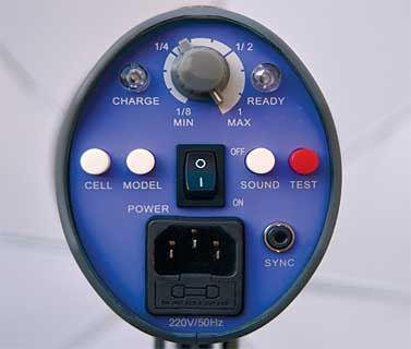 Interfit Venus controls